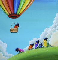 Up, Up, and Away Fine Art Print