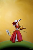 The Flower Girl by Cindy Thornton - various sizes