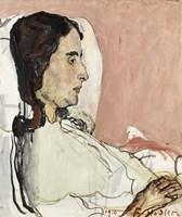 Madame Gode-Darel Sick-1915 by Ferdinand Hodler, 1915 - various sizes
