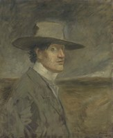 Portrait Of The Artist, 1906 Fine Art Print