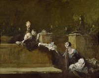 Court Scene by Jean Louis Forain - various sizes