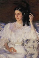Young Woman With Cat-94, 1893 by Cecilia Beaux, 1893 - various sizes