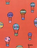 Balloons - Red Fine Art Print