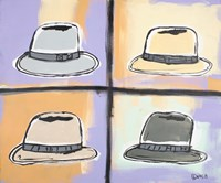 Four Hats Fine Art Print