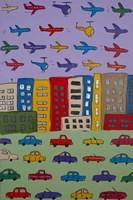 City and Sky Fine Art Print