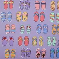 Flip Flops - Purple by Brian Nash - various sizes