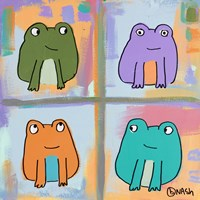 Frogs by Brian Nash - various sizes