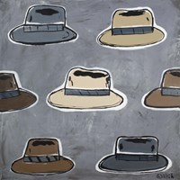 Hats Off Fine Art Print