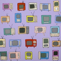 Theres Never Anything on TV Fine Art Print