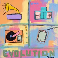 Evolution - Stereo by Brian Nash - various sizes, FulcrumGallery.com brand