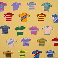 Polo Shirts - Yellow by Brian Nash - various sizes, FulcrumGallery.com brand