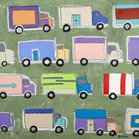 Keep on Trucking by Brian Nash - various sizes