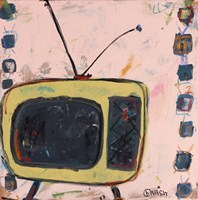 Yellow TV by Brian Nash - various sizes