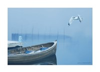 Fog in the Bay by Carlos Casamayor - various sizes, FulcrumGallery.com brand