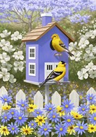 Goldfinch Garden Home by Crista Forest - various sizes - $26.99
