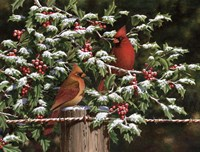 Hangin' Out in the Holly by Dempsey Essick - various sizes