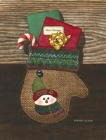Christmas Mitten by Dempsey Essick - various sizes