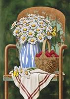 Picking Daisies Fine Art Print