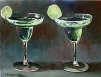 Two Margarita Fine Art Print