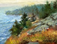 White Head, Monhegan Island, Maine Fine Art Print