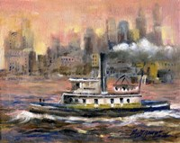 East River, New York City by Hall Groat II - various sizes