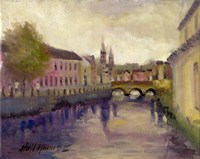 Brandon River, Cork, Ireland Fine Art Print
