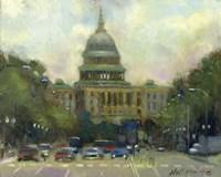 U.S. Capitol Fine Art Print