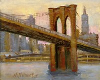 Brooklyn Bridge 4 Fine Art Print