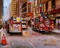 Fire Department New York, 42nd Street NYC Fine Art Print