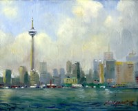 CN Tower, Toronto Fine Art Print