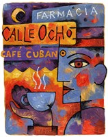Cafe Cubano by Jim Dryden - various sizes, FulcrumGallery.com brand