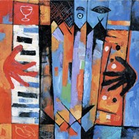 Accordion Player by Jim Dryden - various sizes