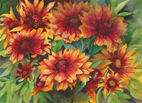 Red Hots by Joanne Porter - various sizes