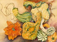 Fall Gourds by Joanne Porter - various sizes