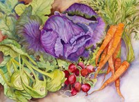 Fall Vegetables by Joanne Porter - various sizes
