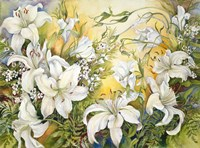 White Lilies by Joanne Porter - various sizes - $29.49