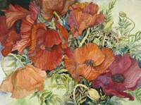 Orange Poppies Fine Art Print
