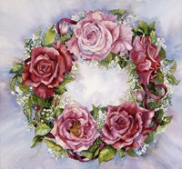 Rose Wreath by Joanne Porter - various sizes - $33.49