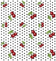 Cherry Fabric 4 Fine Art Print