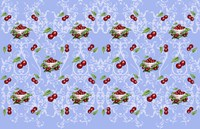 Cherry Fabric 5 Fine Art Print