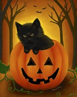 Halloween Kitten by Melissa Dawn - various sizes