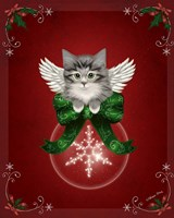 Happy Holidays Cat by Melissa Dawn - various sizes