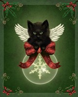 Merry Little Christmas Cat by Melissa Dawn - various sizes