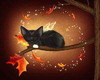 Purrfect Autumn Fine Art Print