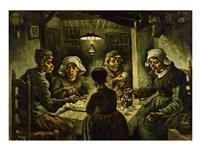 The Potato Eaters Fine Art Print