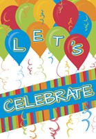 Let's Celebrate by Melanie Parker - various sizes