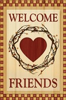 Welcome Friends by Melanie Parker - various sizes