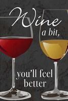 Wine A Bit by Melanie Parker - various sizes