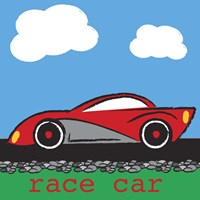 Race Car Fine Art Print