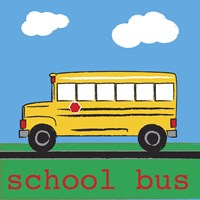 School Bus by Melanie Parker - various sizes
